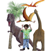 Dinosaur Collection Wall Sticker Mural