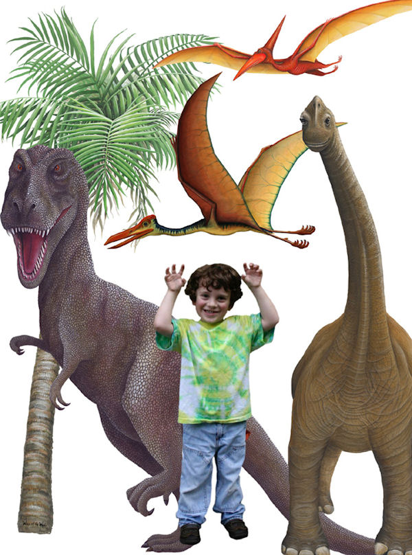 Dinosaur Collection Wall Sticker Mural  - Wall Sticker Outlet
