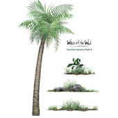 Fun Size Scenery Pack A Peel and Stick Decals