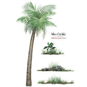 WOW Size Scenery Pack 1 Peel and Stick Decals