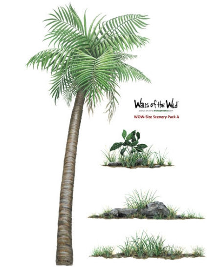 WOW Size Scenery Pack 1 Peel and Stick Decals - Wall Sticker Outlet