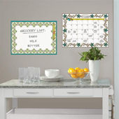 Anya Dry Erase Calendar Memo Board Decal Set