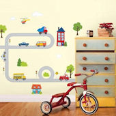 Around Town Wall Decal Kit