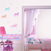 Carousel Peel and Stick Wall Decals
