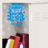 Wall Pops Teal Locker Chandelier