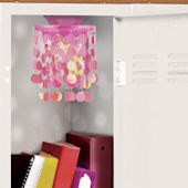 Wall Pops Pink Locker Chandelier