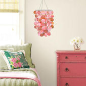 Wall Pops Pearl Pink Chandelier