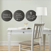 Charcoal Dry Erase Wall Dots