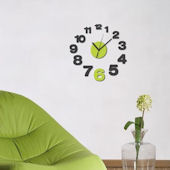 Wall Pops Growing Peel And Stick Wall Clock