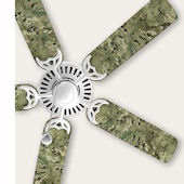 Wall Pops Camo Ceiling Fan Blade Decals