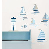 Wall Pops Ships Ahoy Wall Decals
