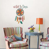 Wall Pops Wild And Free Quote Wall Decals