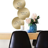 Wall Pops 14K Gold Dry Erase Dots