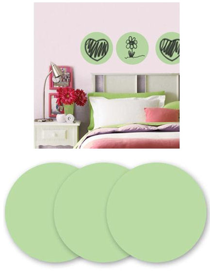 Wall Pops Oh Pear Dry Erase Dots - Wall Sticker Outlet