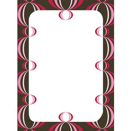 Wall Pops Loopy Red Pink Dry Erase Sheet - Wall Sticker Outlet
