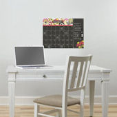 Eden Dry Erase Wall Calendar With Notes Decal