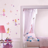 Fairy Garden Peel and Stick Wall Decals