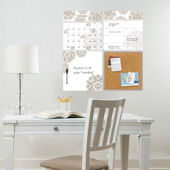 Kolkata Wall Organization Dry Erase Decal Kit