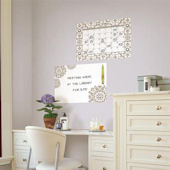 Kolkata Dry Erase Calendar Memo Board Decal Set