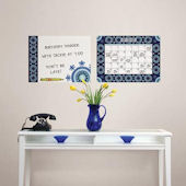 Malaya Dry Erase Calendar Memo Board Decal Set