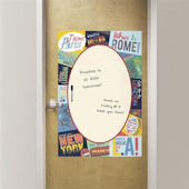 Passport Giant Dry Erase Message Board Decal