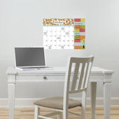 Pop Art Dry Erase Wall Calendar With Notes Decal