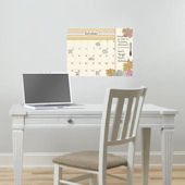 St Tropez Dry Erase Wall Calendar With Notes Decal