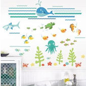 Under the Sea Marine Wall Decal Kit
