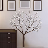 Art Applique Magnolia Blossoms Wall Decals