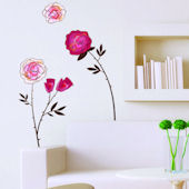 Art Applique The Roses Wall Decals