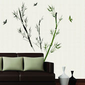 Art Applique Bamboo II Wall Decals