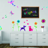 Art Applique Origami Wall Decals