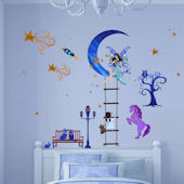 Art Applique Fairy Story Wall Stickers