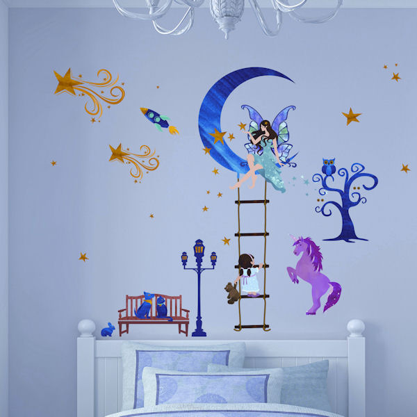Art Applique Fairy Story Wall Stickers - Wall Sticker Outlet