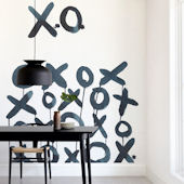 Minted XO Sol Repositionable Wall Mural