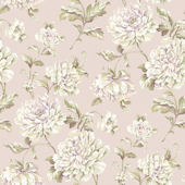 Painterly Floral Pink Wallpaper