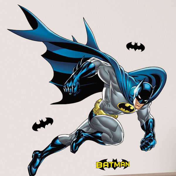 Batman Bold Justice Giant Wall Decal - Wall Sticker Outlet