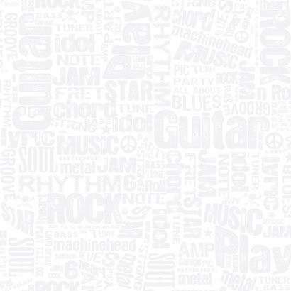 White Rocker Text Wallpaper