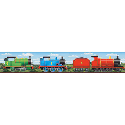 Thomas the Train Scenic Wallpaper Border - Wall Sticker Outlet