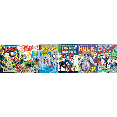 Classic Marvel Wallpaper Border - Wall Sticker Outlet