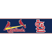 Cardinals Pre Pasted Wall Border