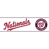 Nationals Pre Pasted Wall Border