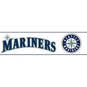 Seattle Mariners Pre Pasted Wall Border