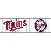 Minnesota Twins Pre Pasted Wall Border
