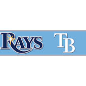 Tampa Bay Rays Pre Pasted Wall Border