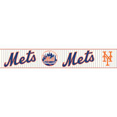 NY Mets Pre Pasted Wall Border