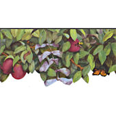 Apple Tree Wall Border