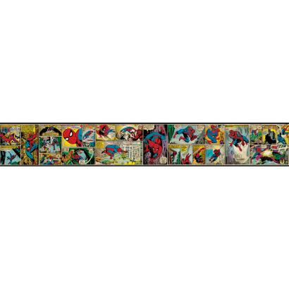 Disney Classic Spiderman Prepasted Wall Border - Wall Sticker Outlet