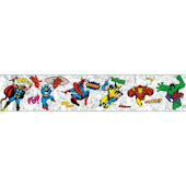 Marvel Comic Classic Heroes Prepasted Border White