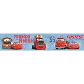 Disney Cars Buddy Prepasted Wall Border Blue